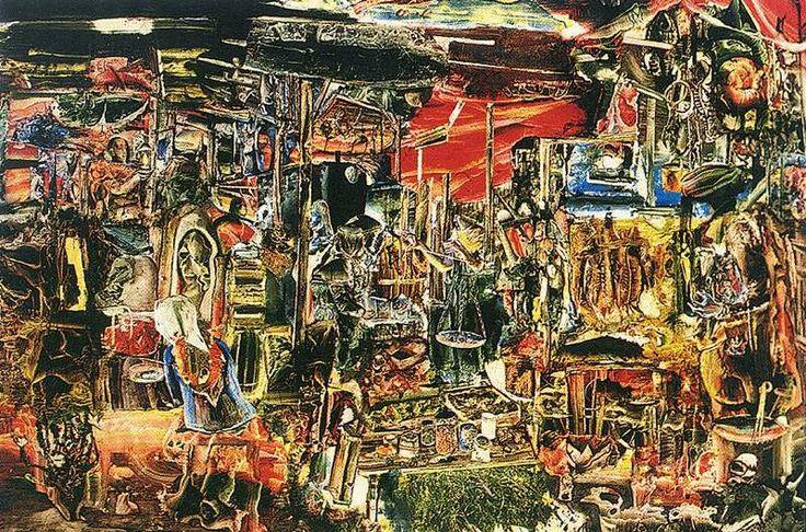 Csernus Tibor: Lehel téri piac, 1962