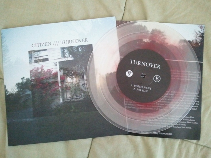 Citizen Turnover Split 7 Vinyl Pinterest Posts