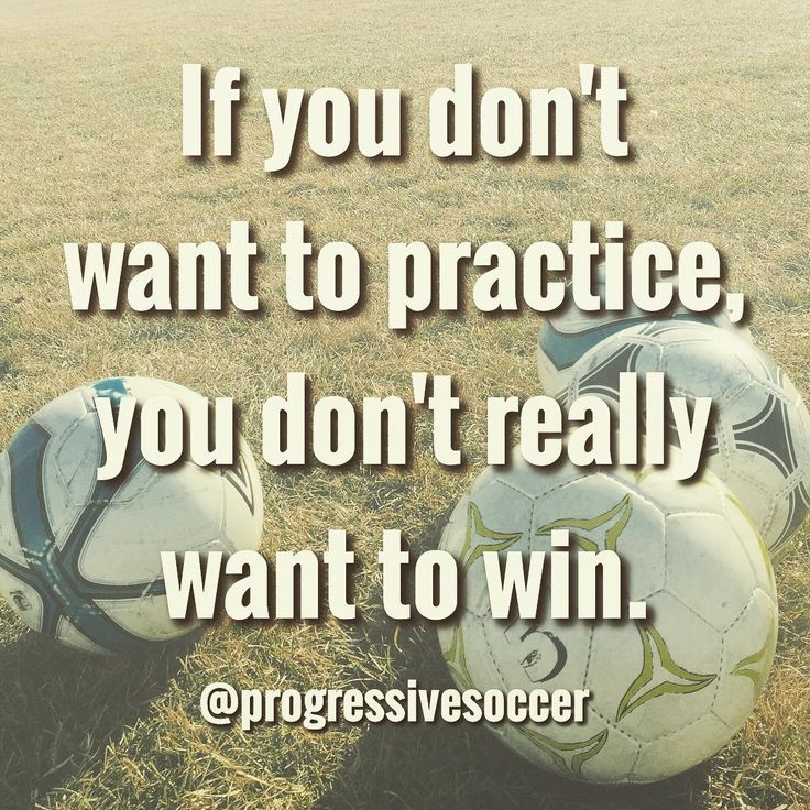 You claim you want to be a great player and win big things... does your training and lifestyle support that claim? Be honest with yourself because your performances and results don't lie.