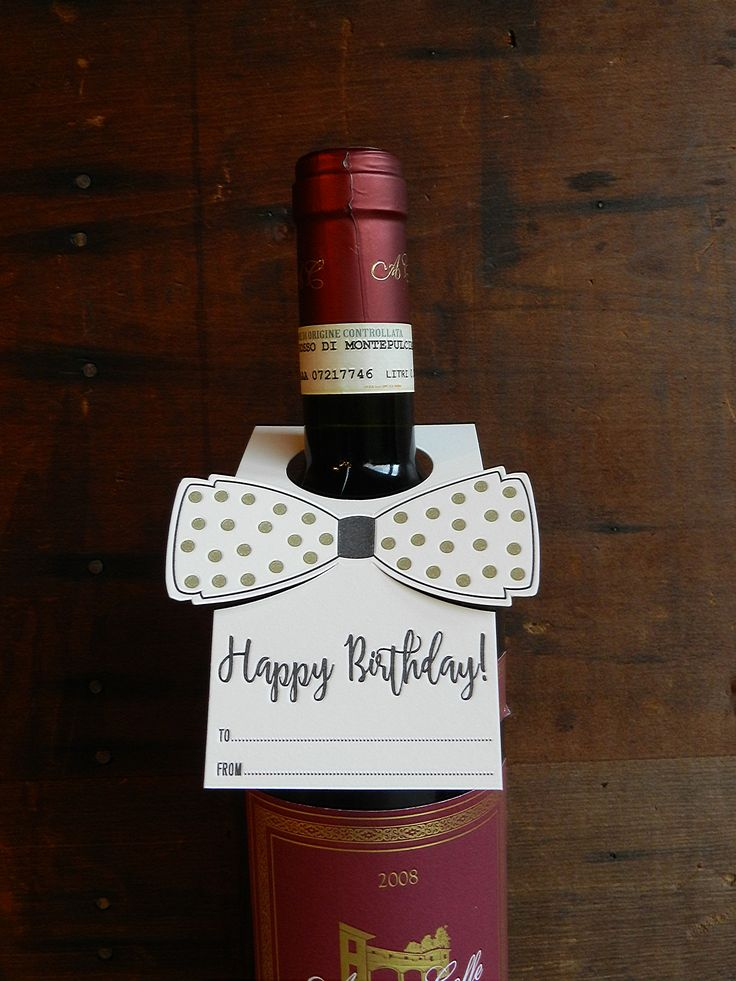 Bottles make great gifts! It doesn't matter if they are filled with fine wine…