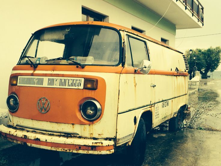 The old VW in Milina...