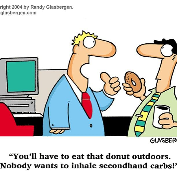 @nutty4nutritions photo: Hilarious! Can you imagine if secondhand carbs were a real thing!? #doomsville