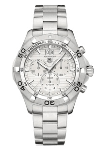 TAG Heuer Aquaracer Chronograph - White