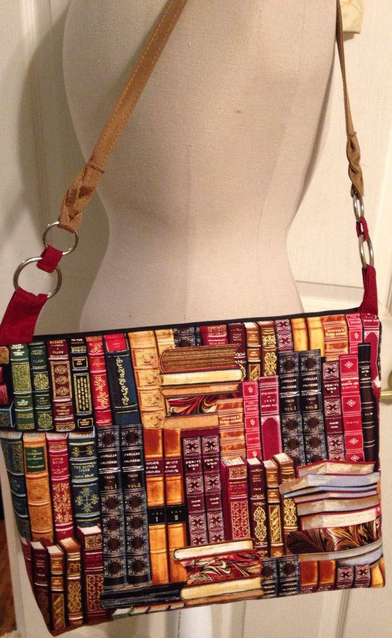 Purse  and flex mens Fabric Library Book Book   Bags  Purse Bags      Readers Book run Purse  Book
