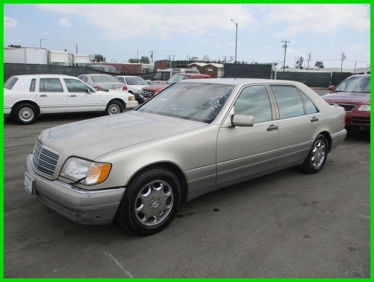 Nice Awesome 1996 Mercedes-Benz S-Class S500 (STD is Estimated) C 1996 Mercedes-Benz S500 Used 5L V8 32V Automatic Sedan Premium NO RESERVE 2017 2018 Check more at http://24go.ml/mercedes/awesome-1996-mercedes-benz-s-class-s500-std-is-estimated-c-1996-mercedes-benz-s500-used-5l-v8-32v-automatic-sedan-premium-no-reserve-2017-2018/