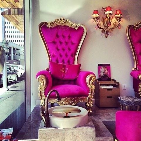 Pin by carol on luxury life pinterest pedicures for Luxury beauty salon furniture