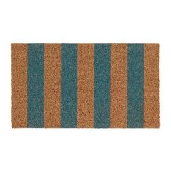IKEA - KVORING, Door mat, Easy to keep clean - just vacuum or shake the rug.The anti-slip backing keeps the door mat firmly in place and reduces the risk of slipping.