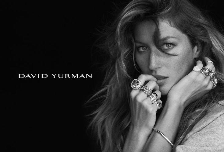 Gisele Bundchen Stuns in David Yurmans Fall 2012 Campaign by Peter Lindbergh