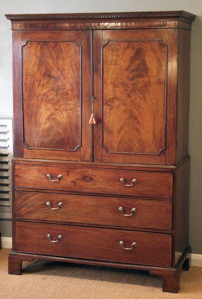 1790) linen press - 285 Best Antiques Images On Pinterest Antique Furniture
