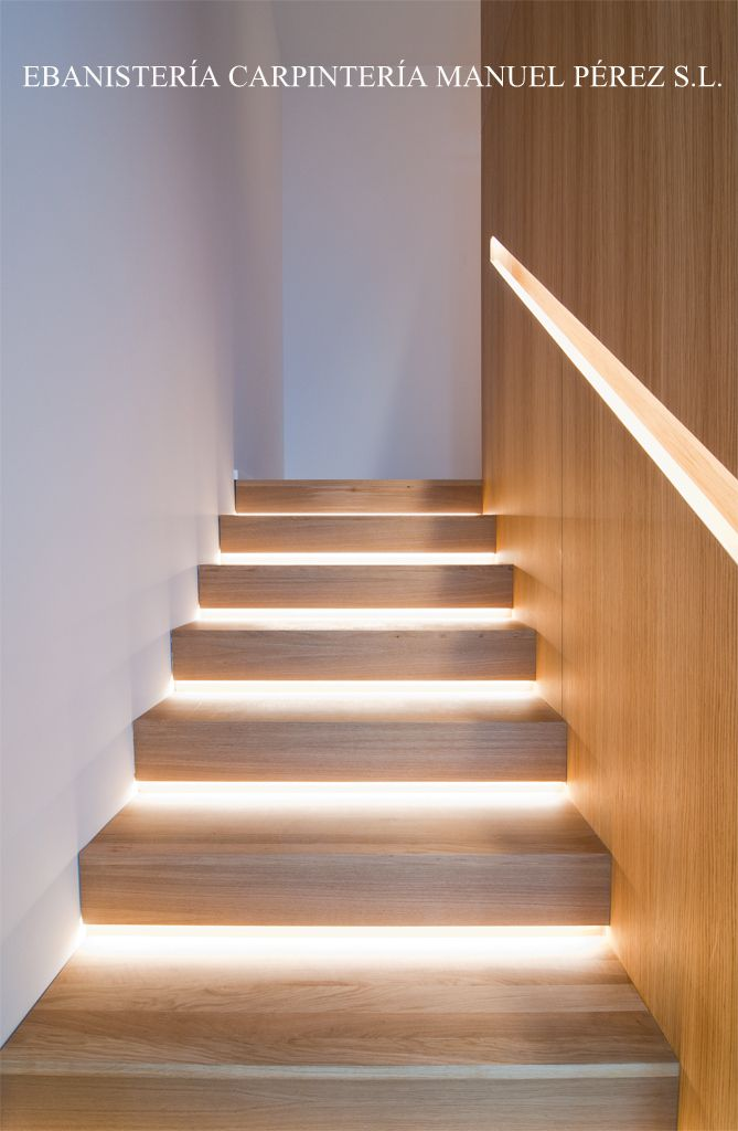 Carpinter a ebanister a en zaragoza muebles de encargo for Huecos de escaleras modernos