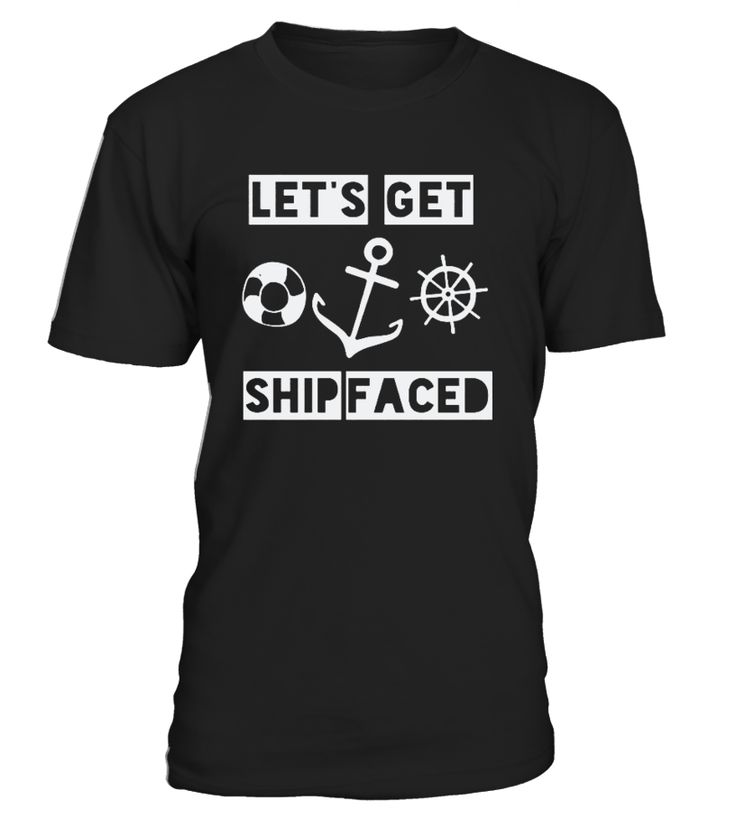 Cruise Ship Accessories Perfect Shirt for those cruise party animals. Lets Get Ship Faced Makes A Great Gift.Wear on first day and stand out. Get one for all members going on vacation on a cruise ship boat.   Cruise Ship Accessories Perfect Gift for anyone you know going on a cruise vacation on a cruise ship boat.            TIP: If you buy 2 or more (hint: make a gift for someone or team up) you'll save quite a lot on shipping.    Guaranteed safe and secure checkout via:   Paypal | VI...