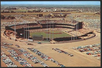 Metropolitan Stadium - MN Twins & MN Vikings ... lots of great memories here.  My first job.  I was 12.  No, I don't think it was legal, but ... it was a great experience!!