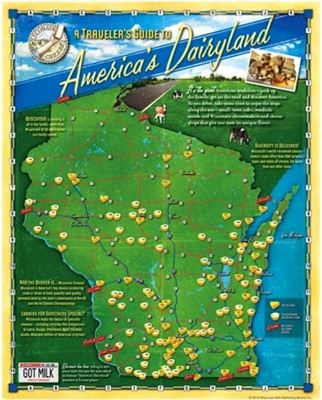 WI Cheese Travel Guide. What a great Wisconsin trip idea!