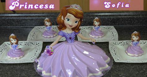 Gelatina de Princesa Sofia /  Casayfamiliatv.com