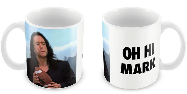 The Room Mug - OH HI MARK Tommy Wiseau mark cult classic film gag tv movie meme #DukeGifts #TheRoomMovie