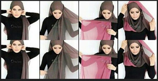 Hijab Tutorial Segi Empat images