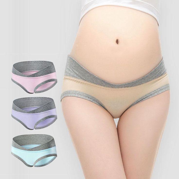 4Pcs/Lot U-Shaped Low Waist Maternity Underwear Pregnant Women Underwe | Lollabuy