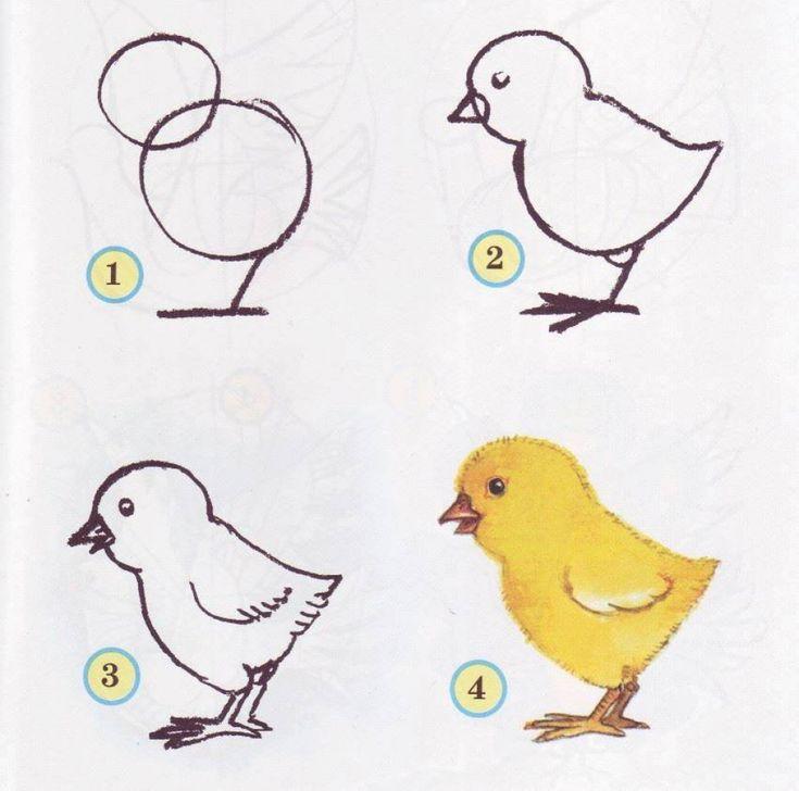 Les 25 meilleures id es de la cat gorie dessin d animaux facile sur pinterest dessins faciles - Dessin d animaux facile a reproduire ...