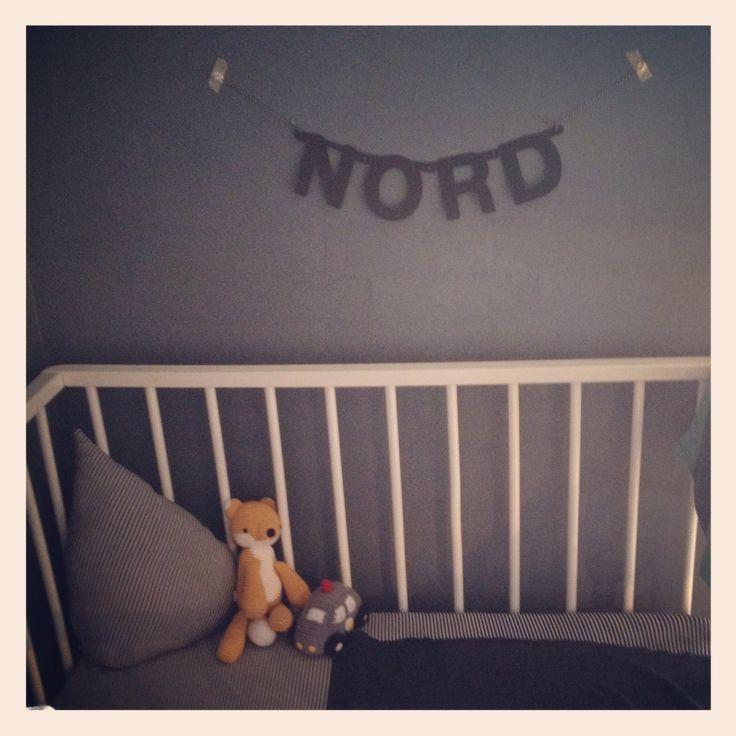 Baby Nord's crib