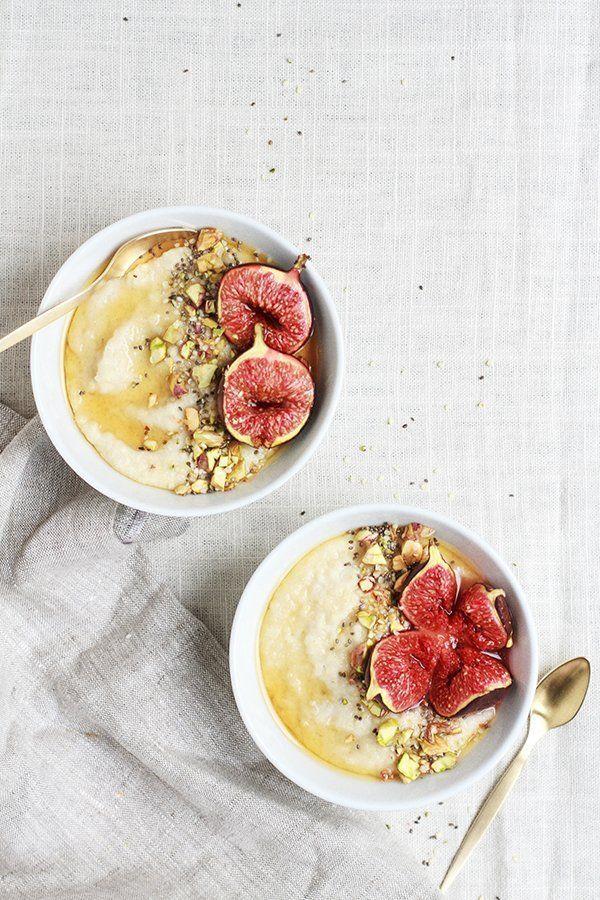 Mornings Are the Worst. This Roasted Fig & Honey Millet Porridge Makes Them Better