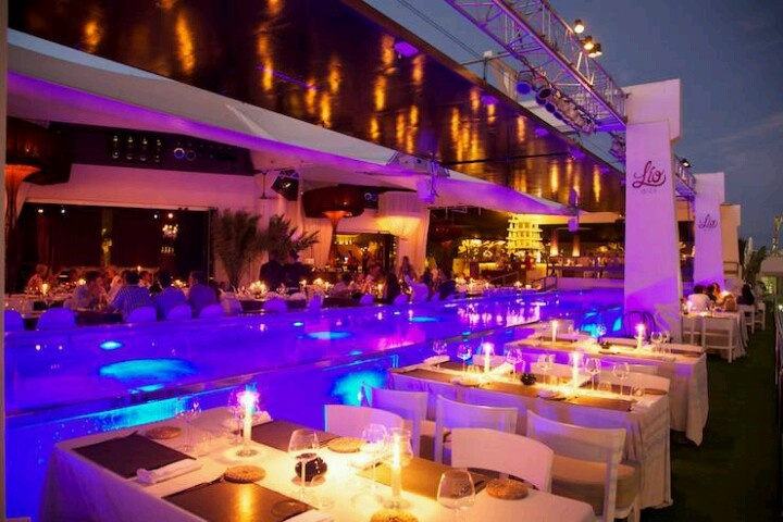 Lio - ibiza / Restaurant- Cabaret. Supposed to be fun and a little crazy, my friend just went there.