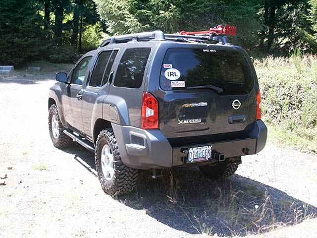 Shrockworks Xterra Steel Rear Bumper Gonna Need A Tow