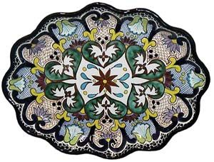 ♥️♣️♣️Talavera Mexican Pottery : More At FOSTERGINGER @ Pinterest 🔷🔹♣️