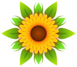 Sunflower Clip Art Clipart Free Microsoft 2