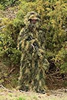 Red Rock Outdoor Gear Men's Ghillie Suit, Woodland Camouflage, Medium/Large