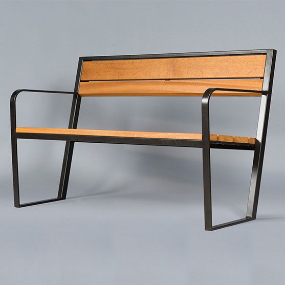 PRAGUE 110 bench and chair – mobilier urbain area