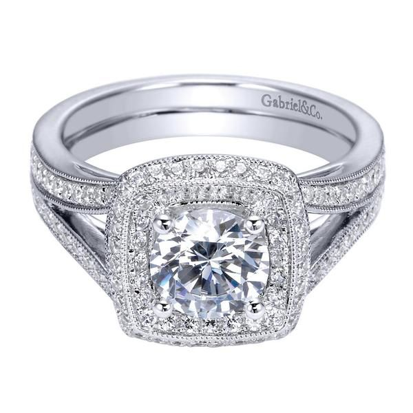 19 best images about Double Halo Engagement Rings on Pinterest