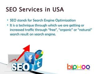 Seo services in usa  BMS provides the best SEO services in USA for small businesses and websites.