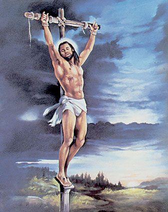 african american art/black jesus | 9558black-jesus-and-scenes-of-life-posters.jpg