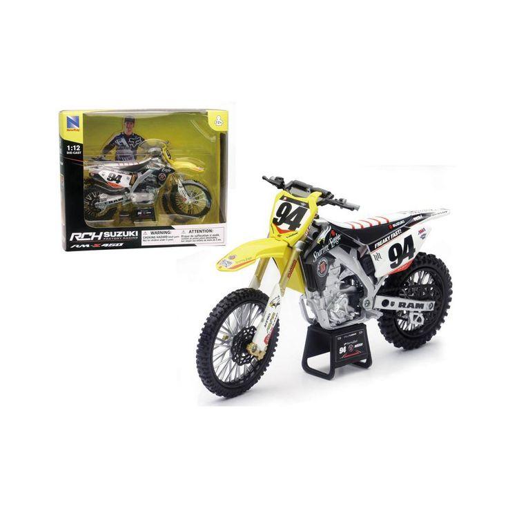 Suzuki RM-Z 450 #94 Ken Roczen Motorcycle Model 1/12 by ...