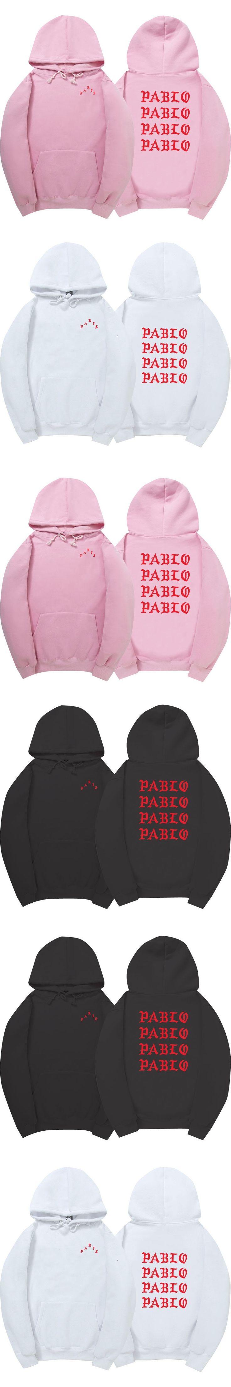 I Feel Like Paul Pablo Kany West sweatshirt men fashion Sweatshirt Hoodies Hip Hop Streetwear Hoody pablo hoodie