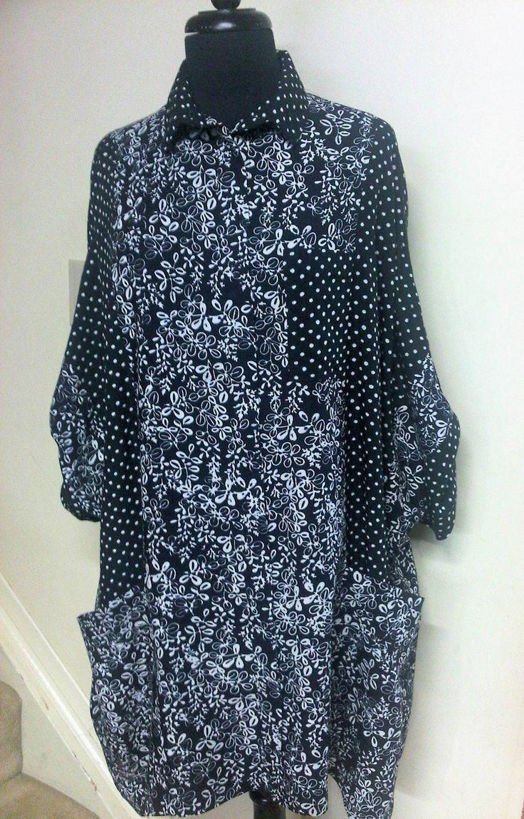 Distinctive Sewing Supplies - Balboa Shirt Batik Rayon