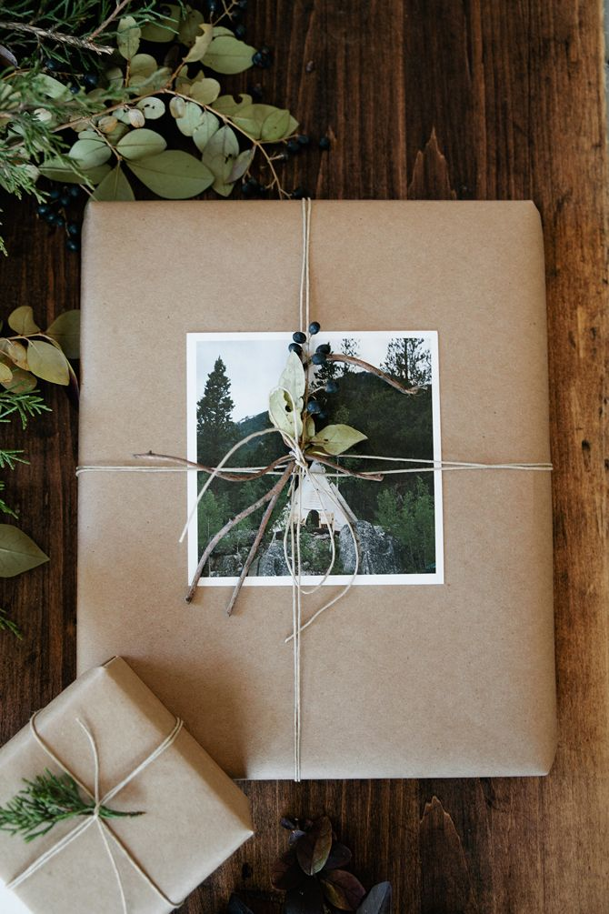 Artifact Uprising | Wrap it with a square photo printKraft Paper, Gift Wrapping, Diy Gift, Gift Wraps, Wraps Gift, Artifact Uprising, Artifacts Uprising, Christmas Wraps, Wraps Ideas