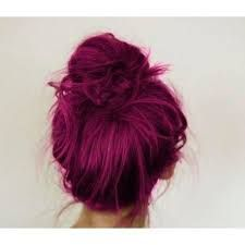 Fuschia hair