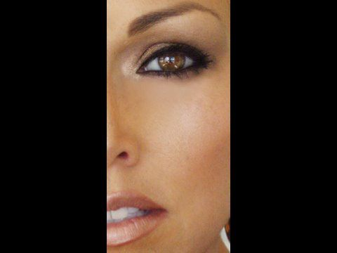 Carrie Underwood inspired look. by Kandee Johnson.  Definitely investing in MAC makeup and trying this. :D