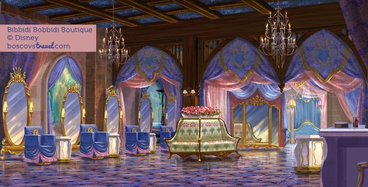 Bibbidi bobbidi boutique inside cinderella 39 s castle at for World boutique