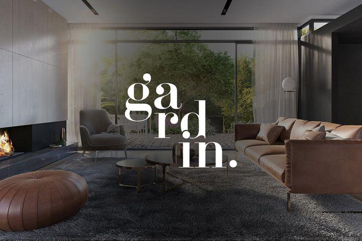 Gardin property brand design