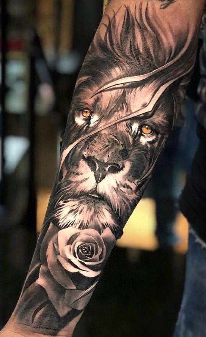70 weibliche und männliche Löwentattoos   TopTattoos   – Tattoos – #Löwentatt…