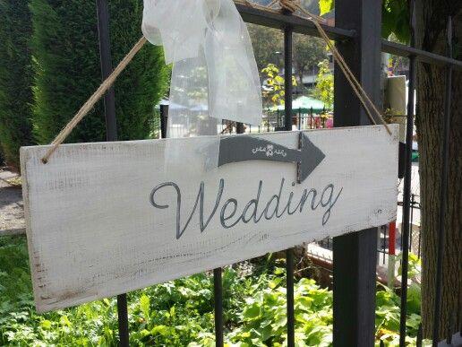 Insegne e cartelli personalizzati per il wedding