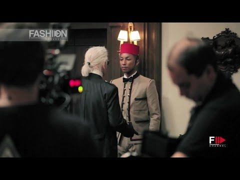 "CHANEL ""Reincarnation"" film by Karl Lagerfeld with Cara Delevingne and Pharrell Williams   the Making Of is on FASHION CHANNEL!!!"