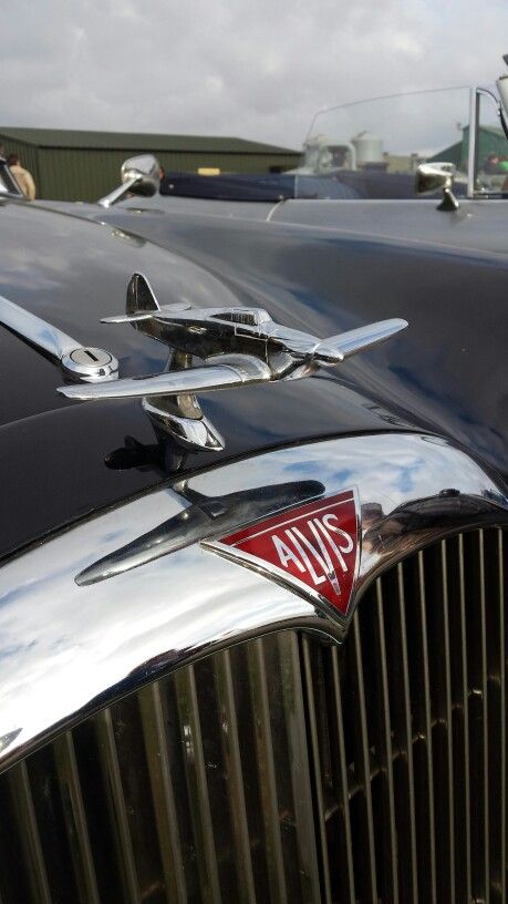 Alvis hood ornament...Re-Pin brought to you by Agents of #ClassiccarInsurance at #HouseofInsurance in #Eugene