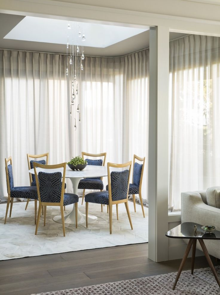 The Formal Dining Room Comes Off Spacious Living An Combines Smooth Lines And Pristine