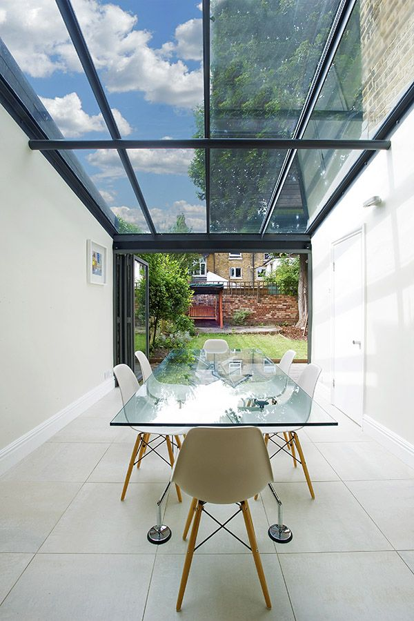 East Dulwich in East Dulwich, Greater London, Side Extension, Kitchen Extension, Victorian Terraced House, Bi-Fold Doors, Kitchen, Rear Extension, Roof-lights, Glass Roof, Kitchen, Pitched Roof, Side Return Ideas, Kitchen Extension Ideas