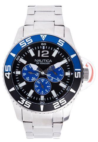 Reloj Nautica Plateado Nautica