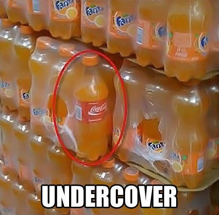 Undercover...
