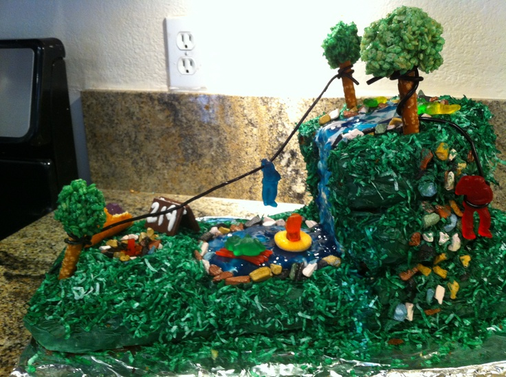 1000+ images about zipline cake party on Pinterest Trees ...